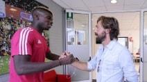 Pirlo fa visita alla Juventus per la prima volta dopo l'addio