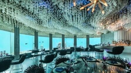Subsix: alle Maldive il ristorante è sott'acqua
