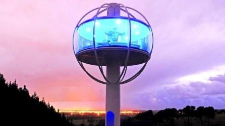 The Skysphere, la moderna casa sull'albero