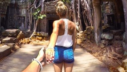 In giro per l'Asia tenendosi per mano: il viaggio di Christian e Laura