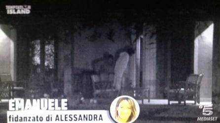 """Il """"bollente"""" incontro tra Emanuele D'Avanzo e Fabiola Cimminella a Temptation Island"""