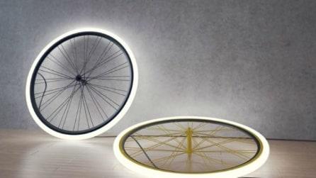 20 idee per riciclare i vecchi pezzi di bicicletta