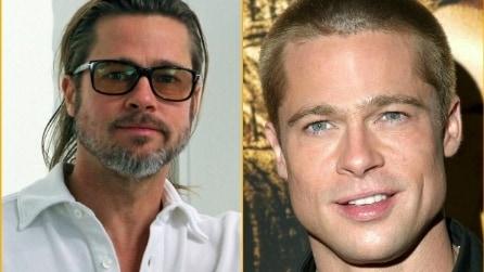 I divi di Hollywood con e senza la barba