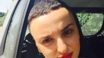 Arisa con un nuovo taglio di capelli