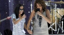 Whitney Houston e Bobbi Kristina Brown