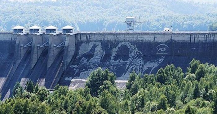 È considerato il più grande murale eco-friendly!