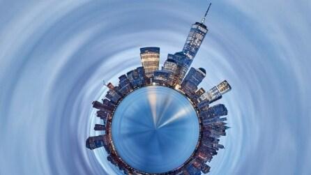 Tiny Planets: gli skyline del mondo diventano mondi in miniatura