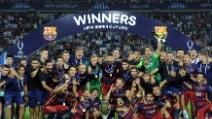 Il Barcellona vince la Supercoppa Europea