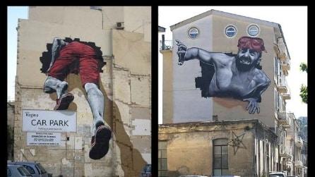 Malta e l'Italia unite da un murale di MTO