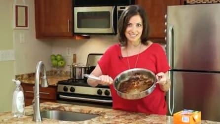 Ecco come scrostare in men che non si dica le pentole dopo aver cucinato