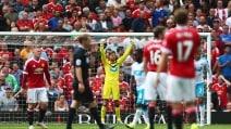 Premier League, Manchester United-Newcastle 0-0