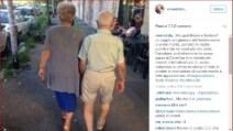 """La nonna social che """"sfida"""" Belen e conquista il web"""
