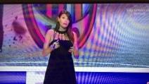Il pancione di Ilaria D'Amico a Sky Calcio Show