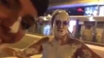 Si cosparge di vernice e si filma nuda per Hong Kong: il video è virale