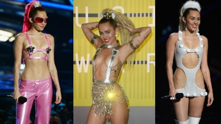 I look di Miley Cyrus agli MTV Video Music Awards 2015