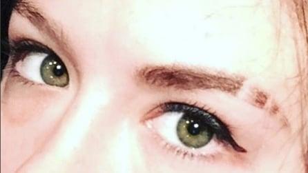 #EyebrowSlits, i tagli sulle sopracciglia che fanno tendenza