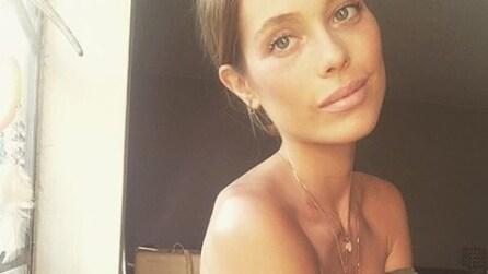 """Genevieve, la modella accusata di essere """"troppo magra"""" sul web"""