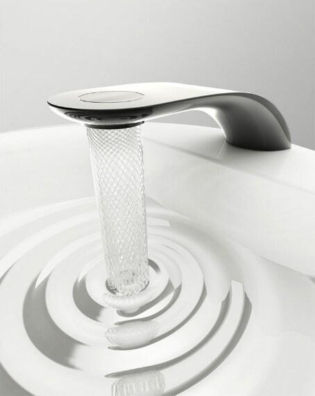 La turbina limita il flusso d'acqua del 15%: questo vuol dire che quando la si utilizza si spreca di meno!
