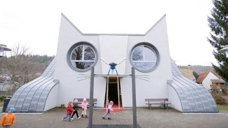 La scuola a forma di gatto: il modo divertente di studiare