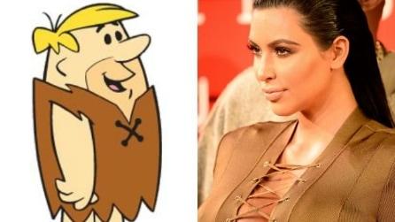 A cosa somiglia il look di Kim Kardashian?