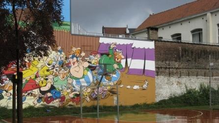 Murales del fumetto a Bruxelles