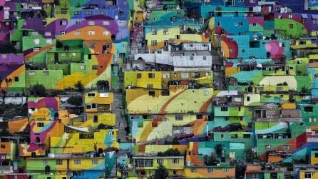 Messico, a Pachuca ultimato un Murales grande quanto un intero quartiere