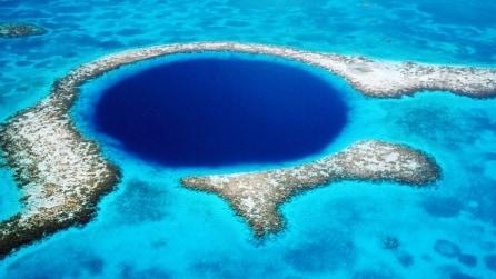 Blue Hole: le impressionanti voragini nel mare
