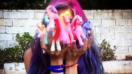Capelli da My Little Pony: sfoggiare una chioma variopinta è il trend del momento