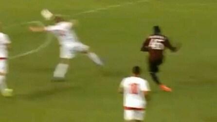 Balotelli lascia subito il segno: gran gol contro il Mantova