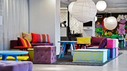 Spotify: viaggio nei colorati e originali uffici del servizio musicale