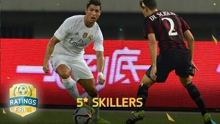 """FIFA 16, ecco i migliori """"skillers"""": fuori Messi, Ibrahimovic e Ronaldinho"""
