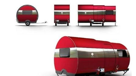 Viaggiare comodi con 3X, il camper che si allunga con un pulsante