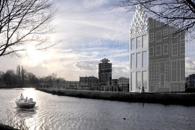 Alcuni architetti olandesi hanno innovato il processo costruttivo per il 21° secolo attraverso la tecnologia 3D, con attenzione alla sostenibilità e all'ambiente, realizzando la 3D Print Canal House.
