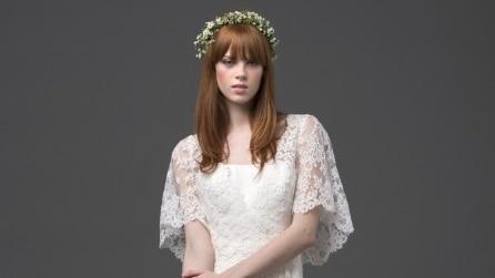 L'abito da sposa di Elisa firmato Alberta Ferretti