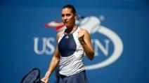 US Open 2015, Flavia Pennetta si qualifica per le semifinali