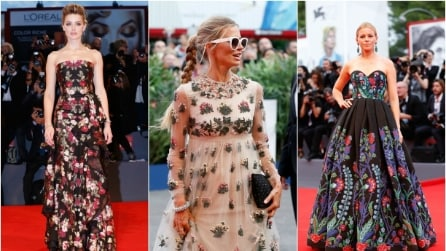 "Venezia 72: le star ""a fiori"" sul red carpet"