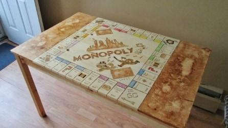 Come trasformare il tavolo da cucina in un tavolo da Monopoly