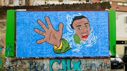 Le 10 opere di street art per i migranti più toccanti d'Europa