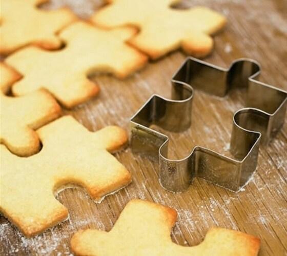 Per cucinare deliziosi biscotti e divertirsi nei puzzle.
