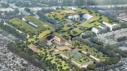 Hills at Vallco: il tetto verde più grande del mondo