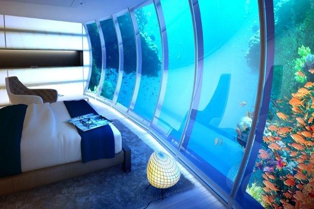 Gli Emirati Arabi Uniti potrebbero presto avere un'aggiunta accattivante per la sua gamma di abitazioni opulenti, con l'introduzione del più grande hotel subacqueo al mondo, il Water Discus Hotel.