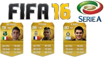 FIFA 16, i migliori 20 della Serie A: stravince la Juventus, ma il primo non è Pogba