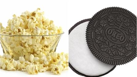 Popcorn e Oreo insieme: l'accoppiata insolita ma golosissima