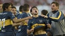 River Plate-Boca Juniors, le immagini del SuperClasico