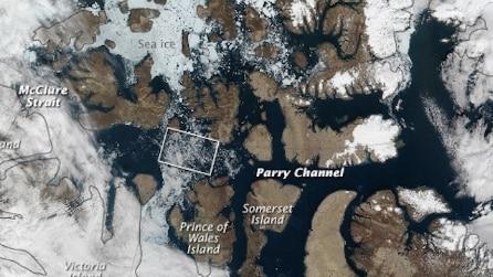Il passaggio a nord-ovest e il riscaldamento globale