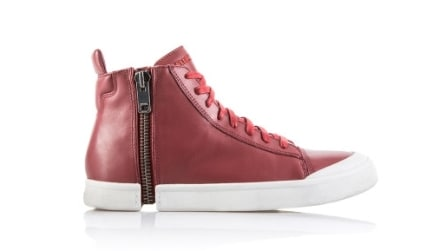 Zip Round, le sneakers Diesel che si dividono in due parti