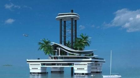 Kokomo Ailand: l'isola galleggiante privata per super ricchi