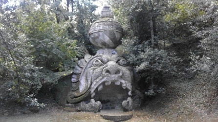Monumenti del Parco dei Mostri di Bomarzo