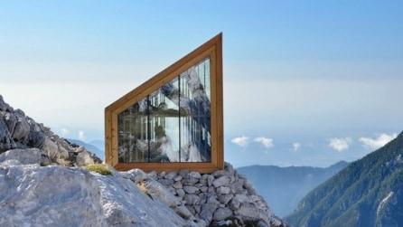 Slovenia: un guscio di vetro per riparasi dal vento