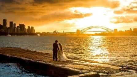 Scatta una foto stupenda ad una coppia di sposi: ecco perché è diventata virale